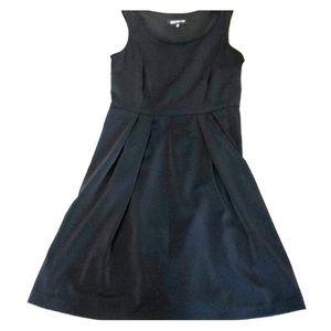 Jones New York black A-line dress. EUC